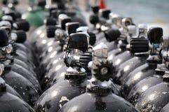 De Tank van de scuba-uitrusting Royalty-vrije Stock Foto's