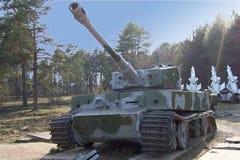 De Tank van de tijger stock afbeelding