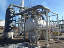 De tank van de waterstof Stock Foto's