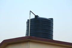 De tank van het dakwater Stock Afbeelding