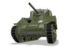 De Tank van Sherman royalty-vrije illustratie