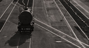De tankauto van de spoorweg Royalty-vrije Stock Fotografie