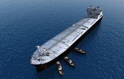De tanker royalty-vrije stock afbeelding