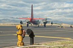 De tanker van de lucht Royalty-vrije Stock Foto's