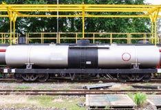 De tanker van het gas Stock Foto's