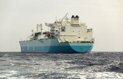 De tanker van het LNG Royalty-vrije Stock Foto's