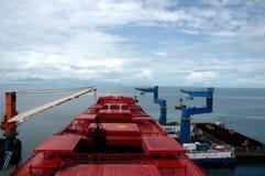 De tankers van de steenkool Royalty-vrije Stock Foto's