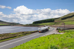 De tankervrachtwagen van de brandstof Royalty-vrije Stock Fotografie