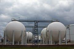 De tanks van de olie Stock Fotografie