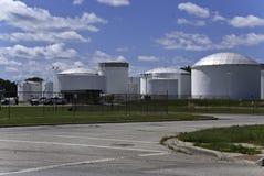 De Tanks van de Opslag van de brandstof royalty-vrije stock foto's