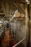 De Tanks van de wijnmakerij Stock Afbeeldingen