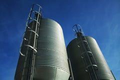 De Tanks van het roestvrij staal Stock Foto