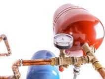 De tanks van de warm wateruitbreiding royalty-vrije stock afbeeldingen