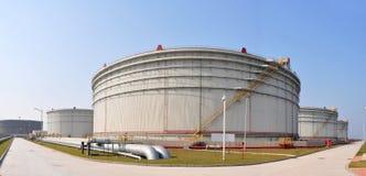 De tanktrein van de olie royalty-vrije stock afbeeldingen