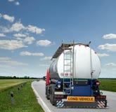 De tankwagen van de benzine Stock Foto's
