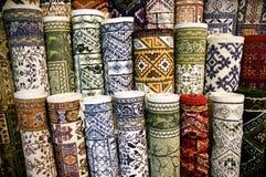 De tapijtentextuur van Ehtnic Royalty-vrije Stock Afbeelding