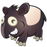 De tapir van het beeldverhaal Stock Afbeeldingen