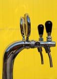 De tapkraan van het bier Stock Afbeelding