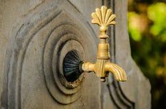 De tapkraan van het water Royalty-vrije Stock Foto's