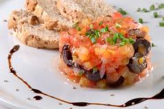 De Tartare tomate Imagem de Stock