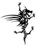 De tatoegering van de draak Royalty-vrije Stock Fotografie