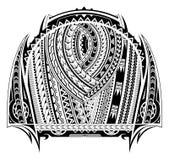 De tatoegering van de Maoristijl stock illustratie