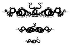 De tatoegering van de slang Royalty-vrije Stock Afbeeldingen