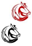 De tatoegering van het paard Royalty-vrije Stock Foto's