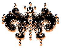 De tatoegering van ogen Stock Foto's