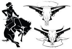 De tatoegering van schetsen Royalty-vrije Stock Foto