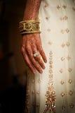 De Tatoegeringen van de henna Stock Foto