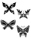De tatoegeringen van de vlinder Royalty-vrije Stock Foto's