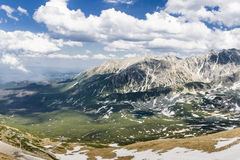 De Tatra bergen Royaltyfri Bild