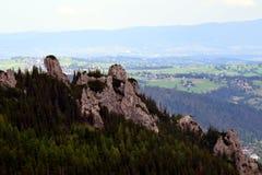 De Tatra bergen Royaltyfri Fotografi