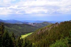 De Tatra bergen Arkivfoto