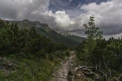 De Tatra-Bergen slowakije Royalty-vrije Stock Afbeeldingen