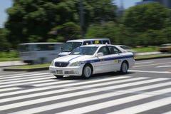 De Taxi Japan van Tokyo Stock Fotografie