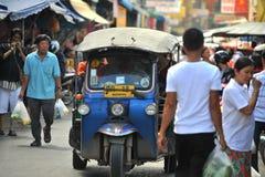 De taxi Thailand van Tuk tuk Royalty-vrije Stock Foto