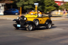 De taxi van Ford T Royalty-vrije Stock Foto
