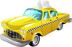 De taxi van het beeldverhaal stock illustratie