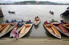 De taxi van het water Stock Foto's