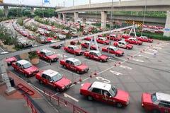 De Taxi van Hongkong Royalty-vrije Stock Fotografie
