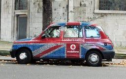 De Taxi van Londen Royalty-vrije Stock Foto