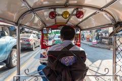 De taxi van Thailand tuk-Tuk is een driewieler Royalty-vrije Stock Foto