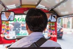 De taxi van Thailand tuk-Tuk is een driewieler Royalty-vrije Stock Afbeelding