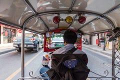 De taxi van Thailand tuk-Tuk is een driewieler Royalty-vrije Stock Fotografie
