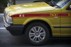 De taxi van Tokio Stock Afbeeldingen