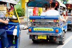 De taxi van Tuk tuk Stock Foto's