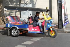 De taxi van TUK TUK Thailand Royalty-vrije Stock Fotografie