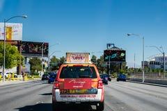 De taxicabine van Las Vegas Royalty-vrije Stock Foto
